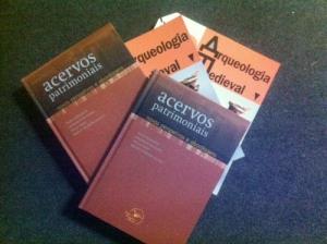 """Presentation of """"Acervos patrimoniais: novas perspetivas e abordagens"""" and """"Arqueologia Medieval 12"""""""