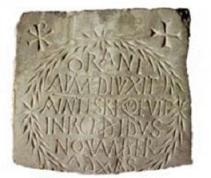 Epitaph of Orania