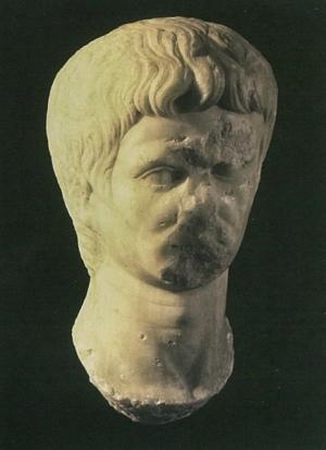 Cabeça/Retrato do Imperador Augusto