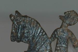 Insígnia representando Cavalo e Cavaleiro