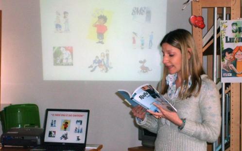 Semana da Leitura do Agrupamento de Escolas de Mértola - 2012