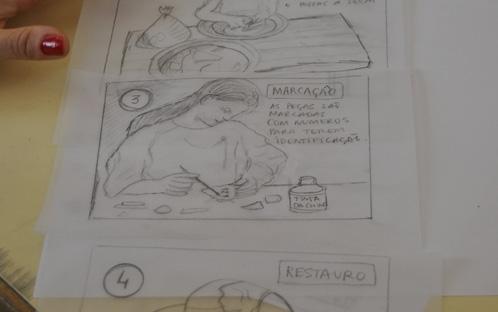 Ilustração para Interpretação e Divulgação de Património